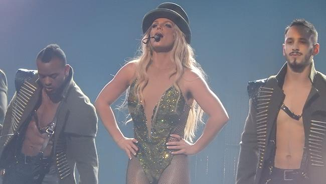 Britney Spears durante l'Apple Music Festival 2016 in uno scatto di Drew de F Fawkes