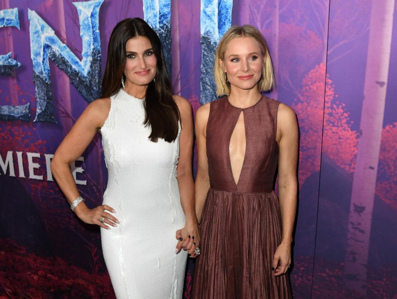 Idina Menzel e Kristen Bell, protagoniste di Frozen 2