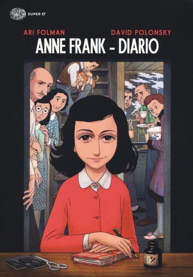 Il diario di Anna Frank diventa fumetto