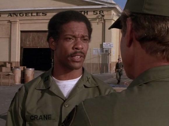 Carl Franklin nei panni del Capitano Crane in A-Team