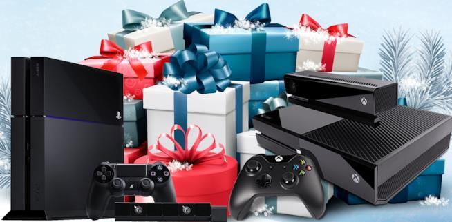 PS4 e Xbox One tra i regali natalizi in un render