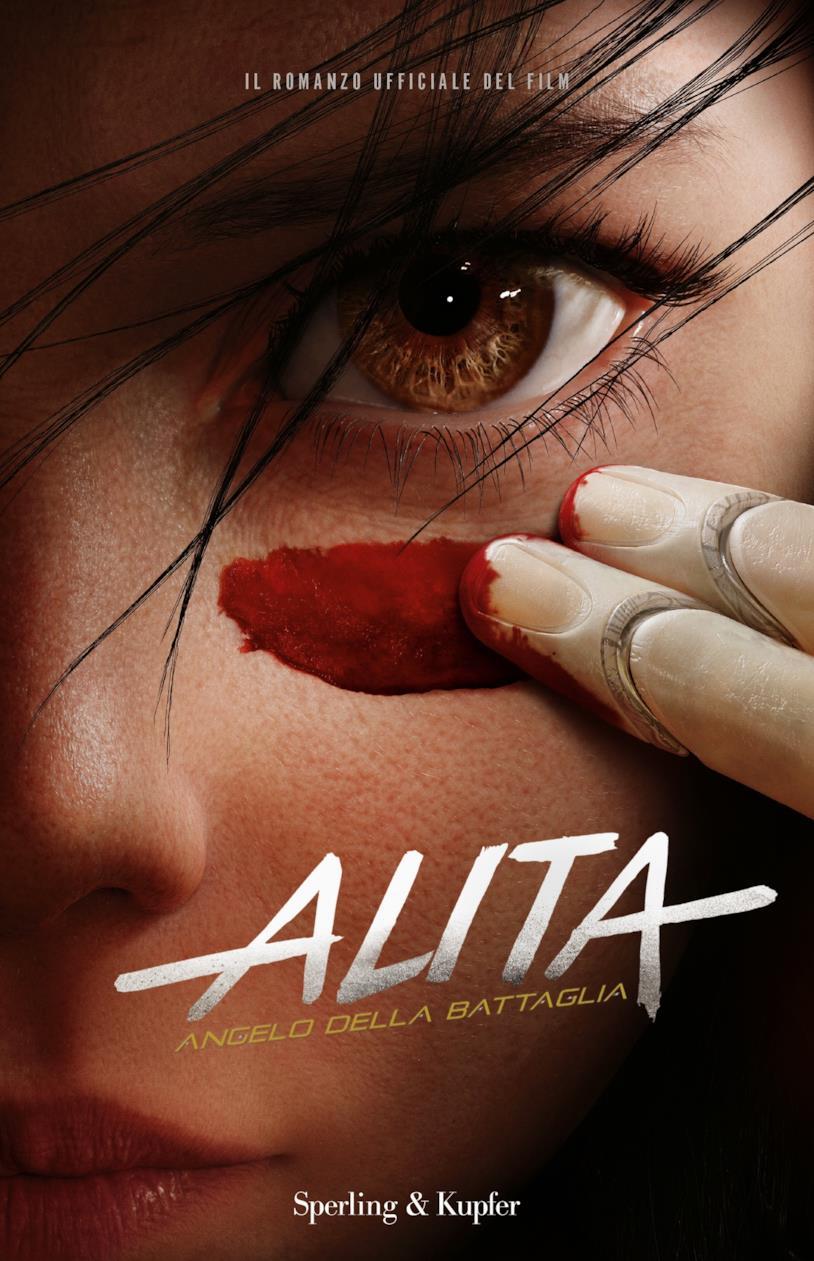 La copertina italiana di Alita angello della battaglia