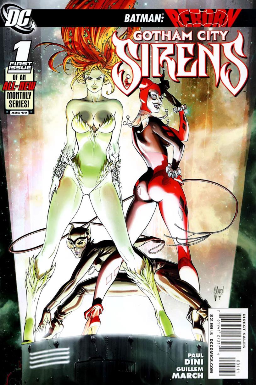 Gotham City Sirens la copertina del fumetto da cui sarà trasposto l'omonimo film