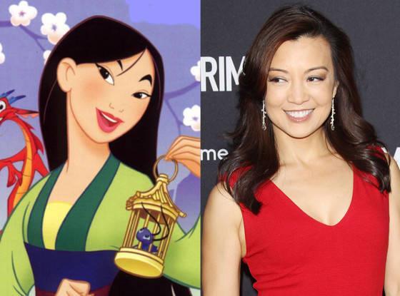 Mulan vs Ming-Na Wen