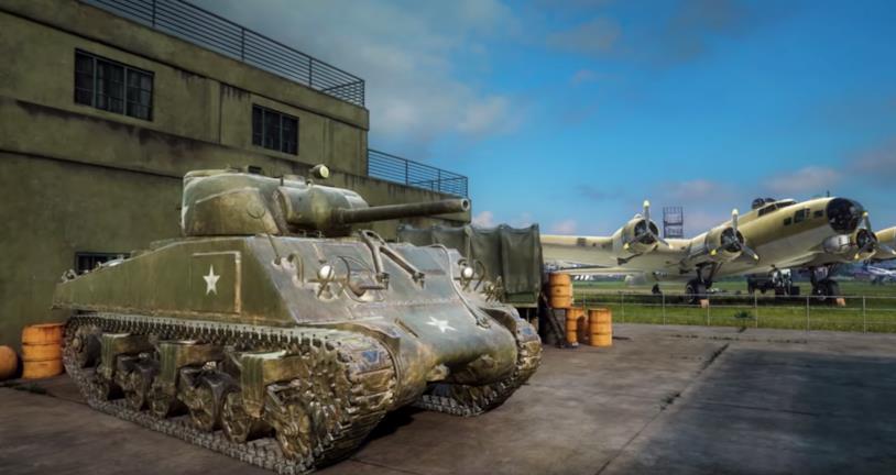 Un'immagine dal video di presentazione di Medal of Honor: Above and Beyond