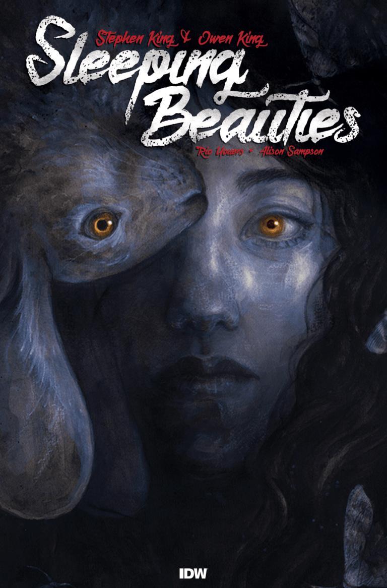 Sleeping Beauties: la copertina della serie a fumetti
