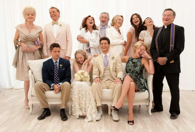 Il cast di Big Wedding