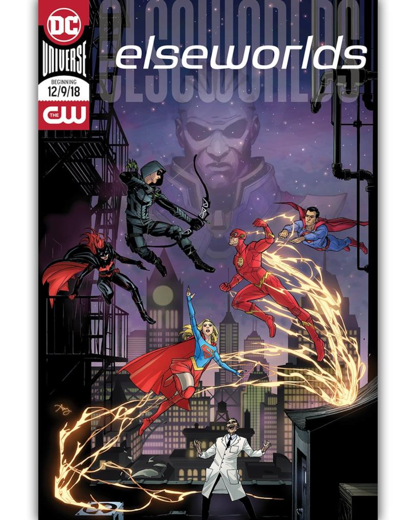 Elseworlds fumetto poster