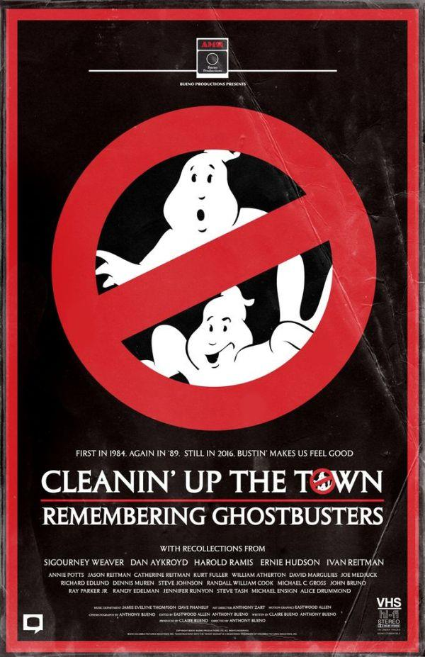 Cleanin 'Up the Town il poster del documentario