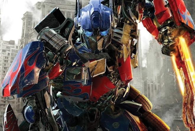 Una scena di Transformers