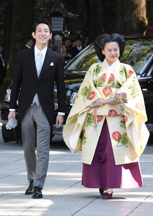 La principessa Ayako ha rinunciato al suo titolo quando ha sposato Kei Moriya