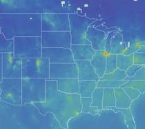 Mappa interattiva inquinamento globale