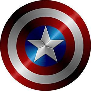 Immagine dello scudo di Capitan America
