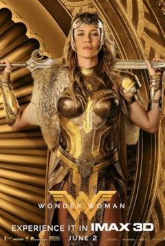 La regina Ippolita nel character poster di Wonder Woman