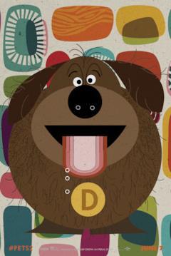 Duke, uno dei cani di Pets 2