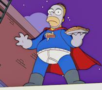 I Simpson: Homer nelle vesti dell'Uomo Torta