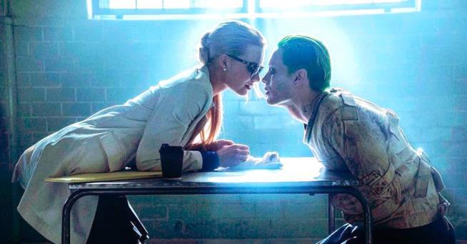Harley Quinn e Joker in una scena
