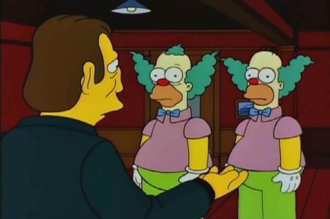 Krusty doveva essere inizialmente l'alter ego di Homer