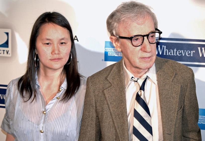 Soon Yi e Woody Allen