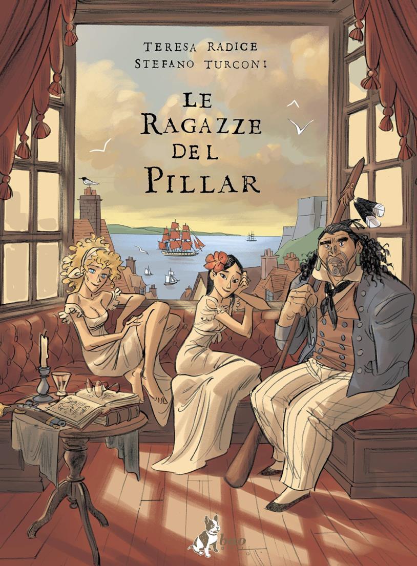 La copertina de Le ragazze del Pillar