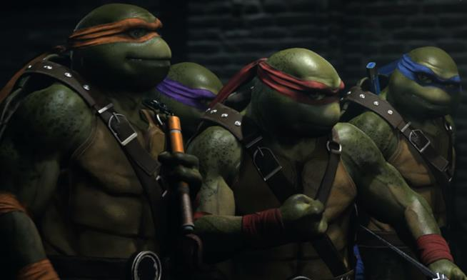 Le TMNT in Injustice 2