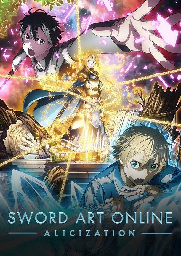 Sword Art Online alicization personaggi principali