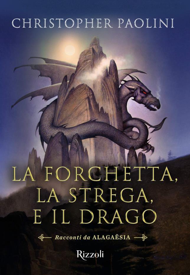 Immagine della copertina de La forchetta, la strega e il drago
