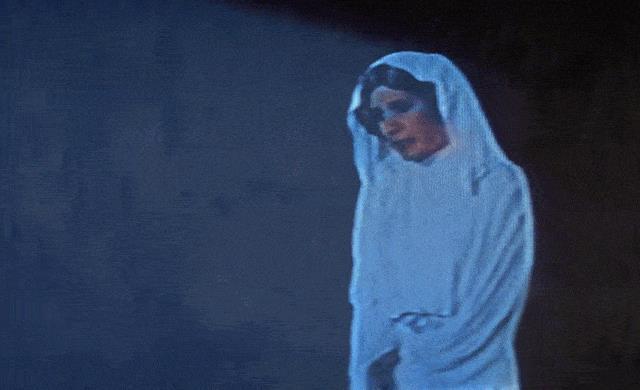 Ologramma di Leia Organa