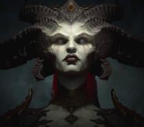 Un primo piano di Lilith in Diablo 4