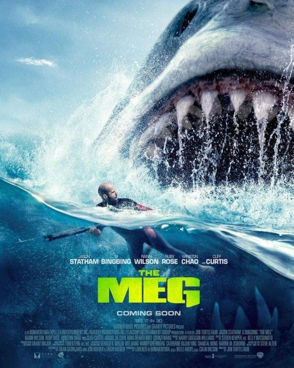 Jason Stataham affronta Meg nel nuovo poster del film