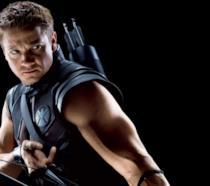Jeremy Renner è Occhio di Falco in una promo art di Avengers