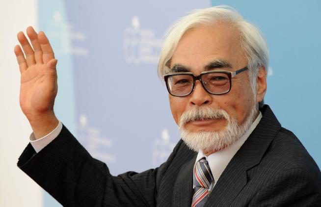 Il regista giapponese Hayao Miyazaki