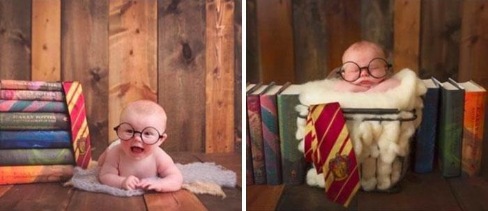 Bebé in posa.