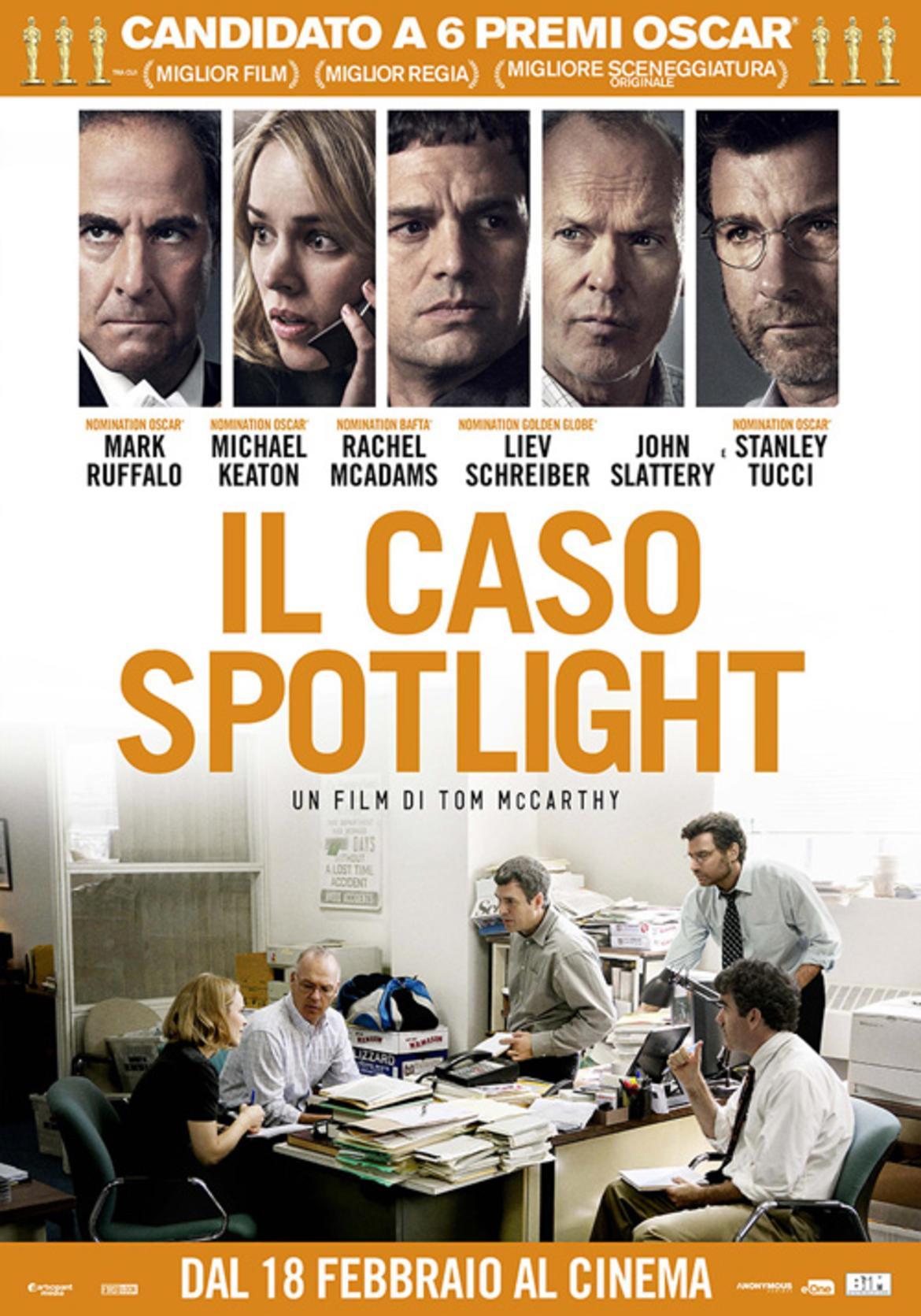 Risultati immagini per il caso spotlight