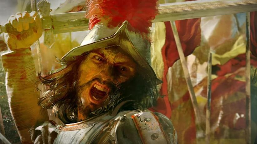 Un soldato dal trailer di Age of Empires IV