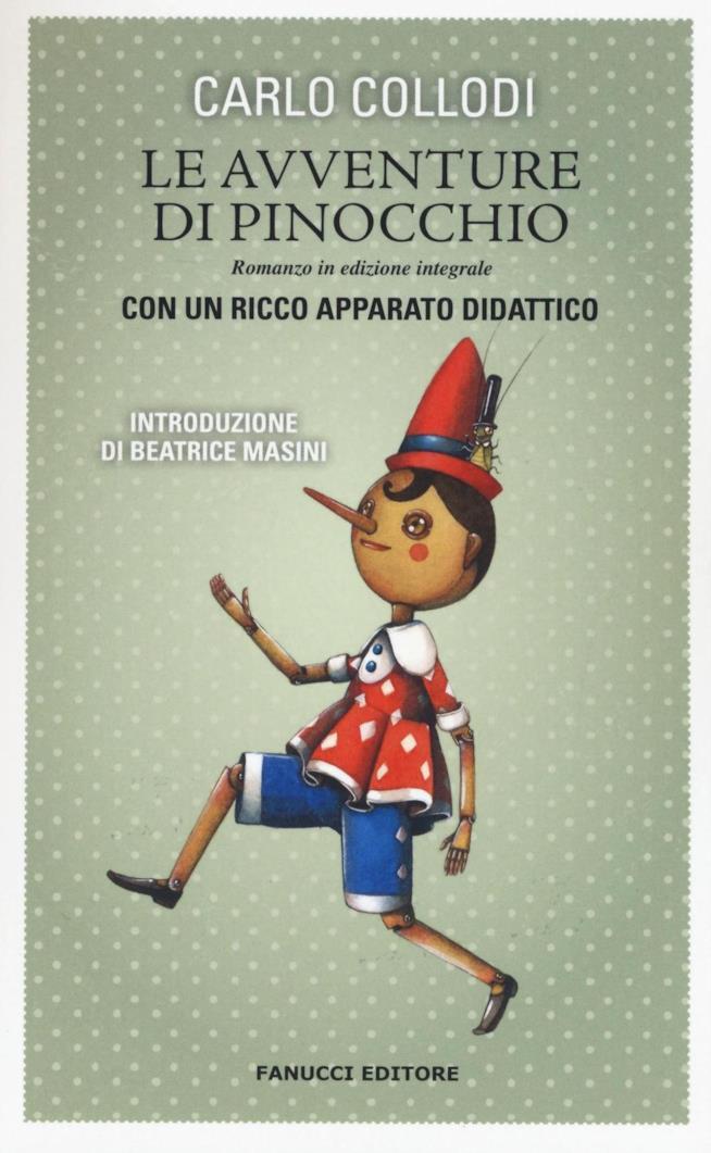 La copertina del libro di Collodi per Fanucci Editore