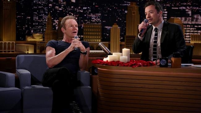 Sting ospite al The Tonight Show