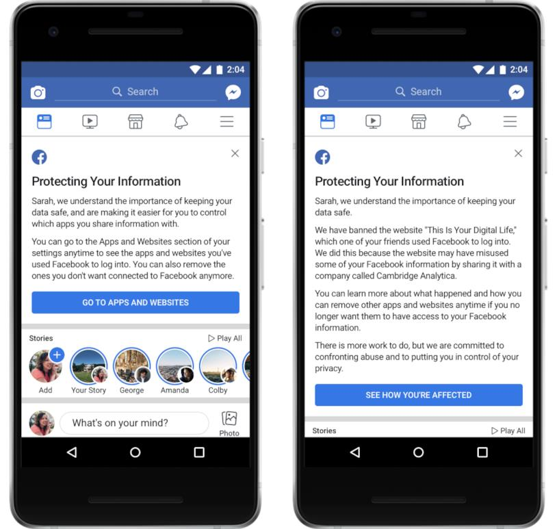 Facebook introduce alcune novità per proteggere la privacy dei propri utenti