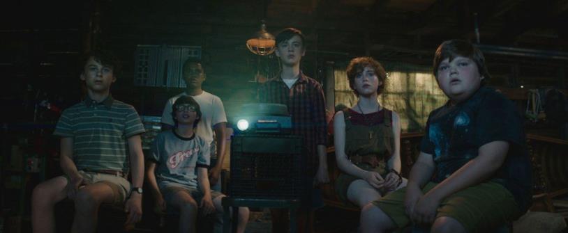 Scena del film IT, Club dei Perdenti