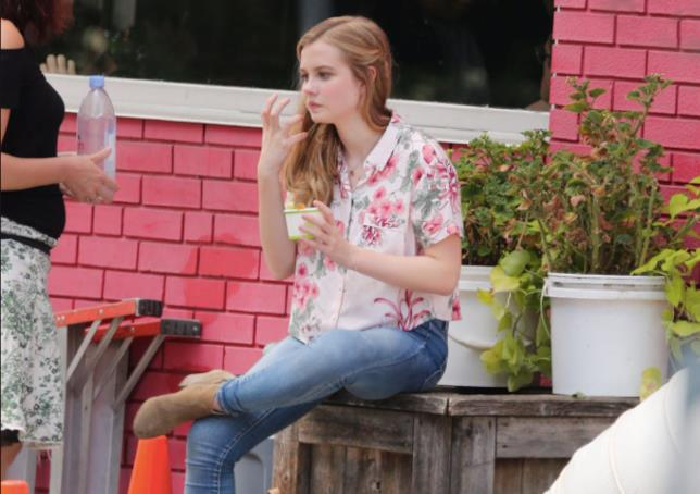 Angourie Rice in una scena di Every Day