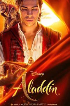 Il character poster di Aladdin