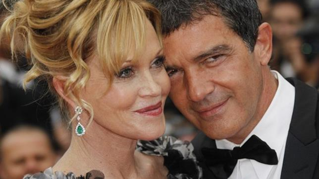 Melanie Griffith e l'ex marito Antonio Banderas