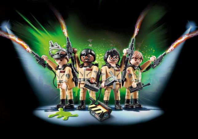 I 4 Acchiappafantasmi Playmobil