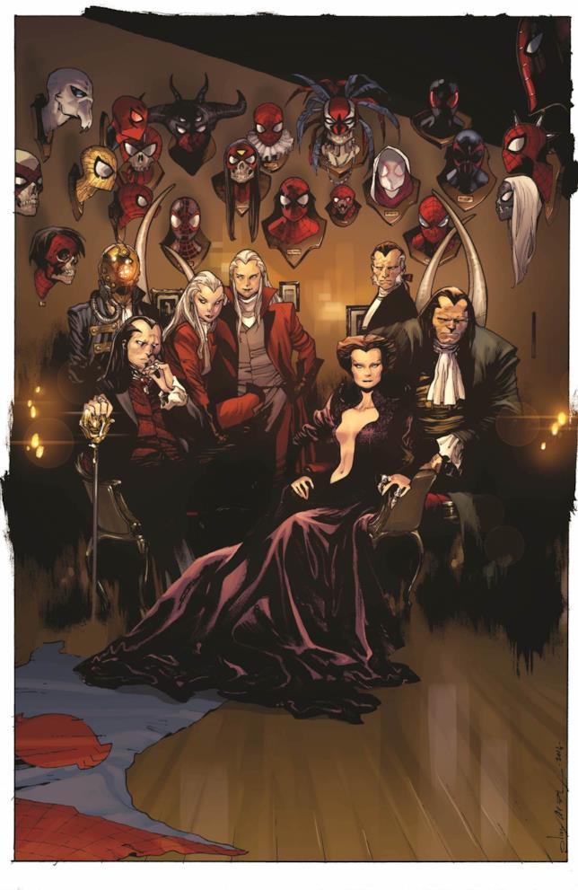 Morlun e Gli Eredi sulla cover di Amazing Spider-Man 12