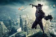Un'immagine promozionale di Black Panther
