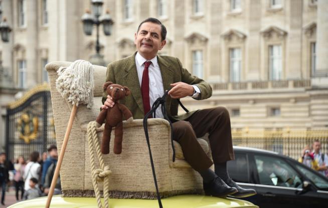 Rowan Atkinson nei panni di Mr. Bean