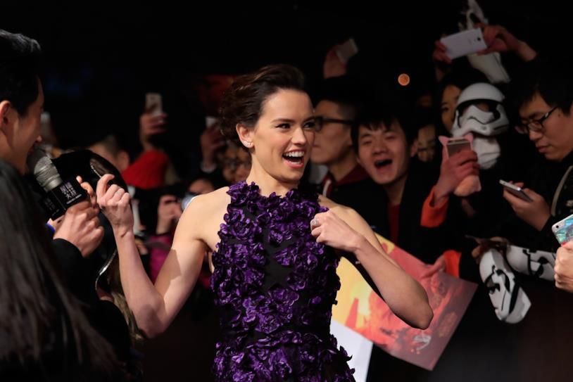 Daisy Ridley ad un evento di Star Wars in Asia