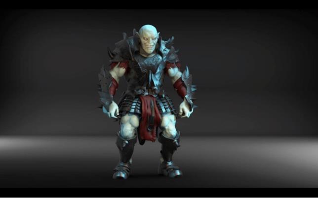 Il Giak, nemico del giocatore in Lone Wolf AR