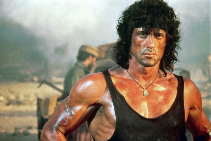 Stallone interpreta Rambo