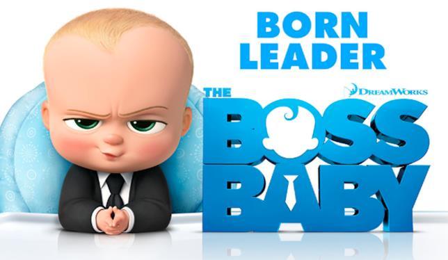 Poster del film Boss Baby